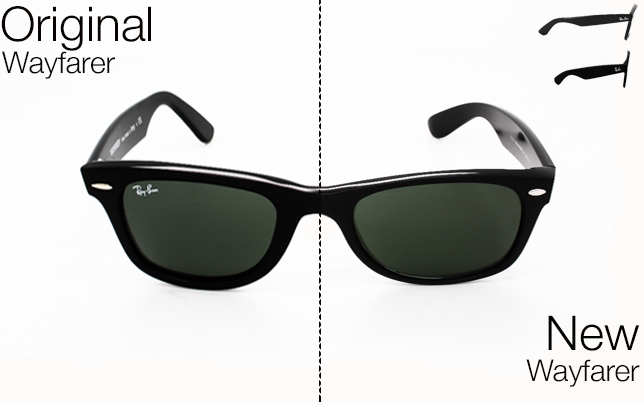 ray ban wayfarer new vs old  ray ban original wayfarer vs new wayfarer
