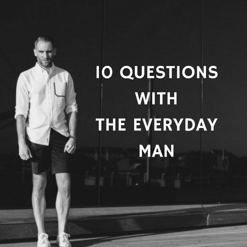 10 Questions with The Everyday Man
